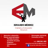 Eduardo Mendez - Dietista y entrenador personal