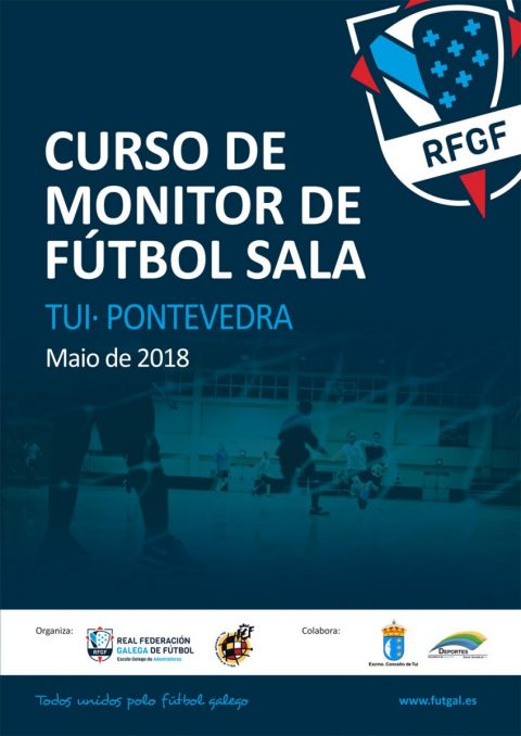 Cartel Monitor Fútbol Sala